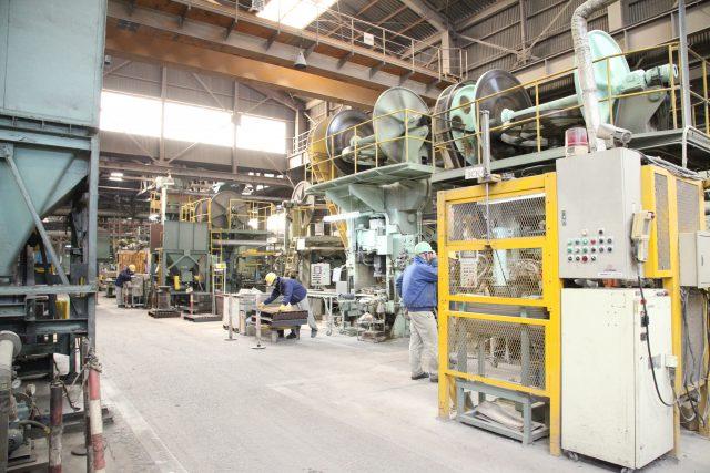 耐火煉瓦の三石ハイセラム定型レンガ工場写真8