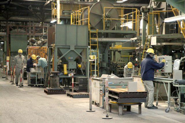 耐火煉瓦の三石ハイセラム定型レンガ工場写真7