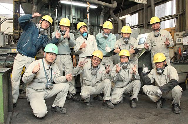 耐火煉瓦の三石ハイセラム定型レンガ工場写真9