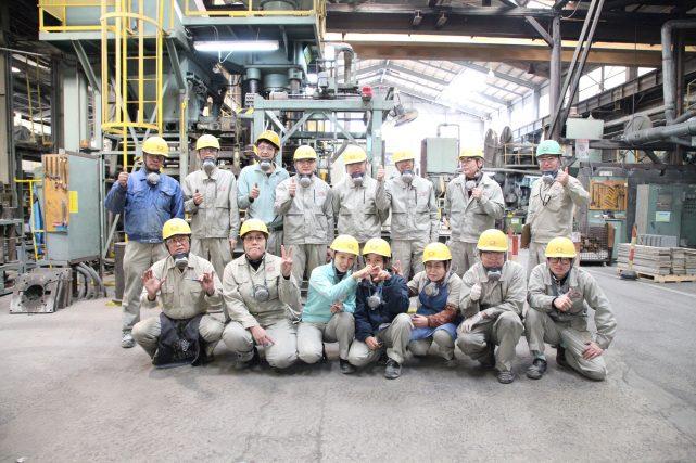 耐火煉瓦の三石ハイセラム定型レンガ工場写真2