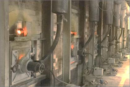 耐火煉瓦の三石ハイセラム焼成工場写真1