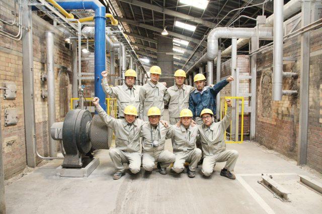 耐火煉瓦の三石ハイセラム焼成工場写真3