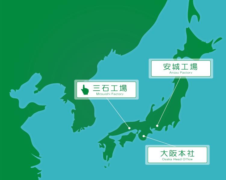Web工場見学地図