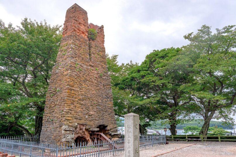 山口県に現存する萩反射炉